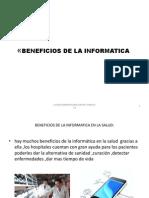 Beneficios de La Informatica