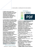 Identificação de segmentos e seleção de mercados-alvo1