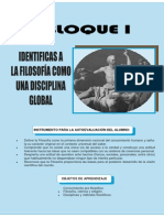 Bloque 1 (La Filosofía Disciplina global)