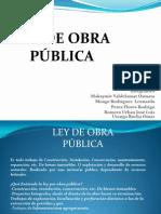 Ley de Obra Publica