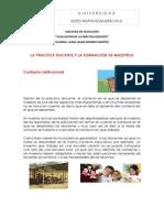 Reporte de Lectura_la Practica Docente