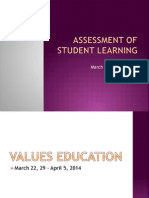 Assessment of Student Learning
