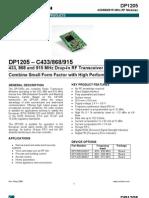 433/868/915 MHz RF Modules