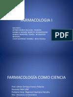 1.FARMACOLOGÍA COMO CIENCIA
