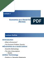 Lecture 1_Economics as a Social Science