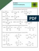 Lista Hidro Carbonetos Ramificados