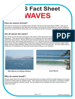 SOS Fact Sheet on Waves