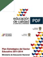 5. Plan Estrategico Sector Educativo 2011-2014