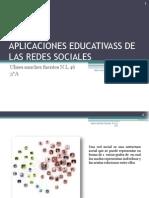 Trabajo 21 Aplicaciones Educativass de Las Redes Sociales