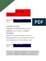 Inmunología Oral