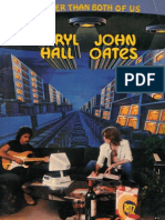 Book - Hall & Oates - Bigger Than Both of Us (Piano) Sheet Music