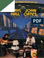 Book - Hall & Oates - Bigger Than Both of Us (Piano) Sheet Music