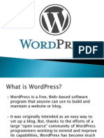 WordPress Presentation Mit