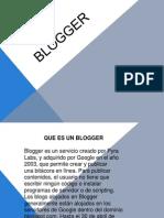 Blogger Ppt