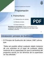 POO III 14 Polimorfismo