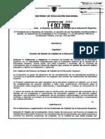 Decreto 3963 de 2009