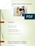 Transition Care for Children