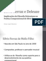 Silvio Ferraz e Deleuze PPT
