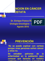 08092010 Prev Cancer Prostata