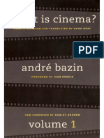 What is Cinema 1 - Bazin