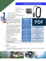 Medidor Ultrasonico de Nivel- TDS-200K-1