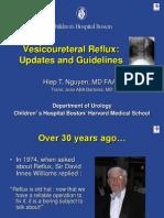 Nguyen vesico uretheral reflux