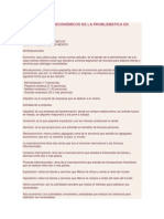 ASPECTOS SOCIOECONÓMICOS DE LA PROBLEMÁTICA EN MÉXICO