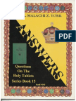 Series Book 15 - Questions and Answers