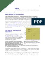 Thermodynamics - Apuntes