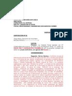 Archiva Lavado de Activos 322-2012