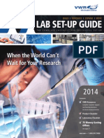 VWR 2014 Lab Set-Up Guide
