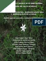 Conservación y manejo de un área natural protegida