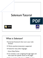 Selenium consulting company