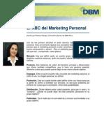 El ABC Del Marketing Personal