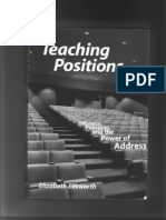 Ellsworth, Elizabeth-1997-Teaching Positions (Book)