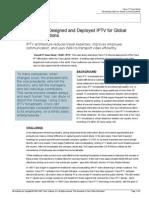 Cisco It Case Study Iptv