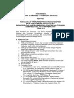 Pengumuman Seleksi Tenaga Kontrak Bpol Jembrana 2013