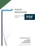 Plan de negociación