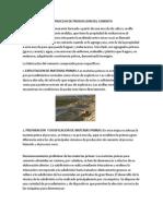 El Proceso Deproduccion Del Cemento Tarea