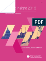 Market Insights 2013 - Professional Services