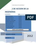 Campos de Accion de La Ingenieria