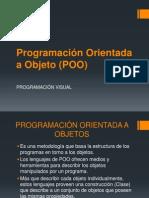 Programación Orientada a Objeto (POO)