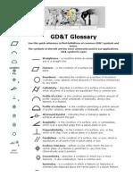 GD&T Glossary