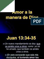 Amar a La Manera de Dios