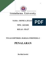 """Tugas 1 Bahasa Indonesia """"Penalaran"""""""