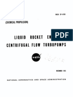 Liquid Rocket Engine Centrifugal Flow Turbopumps (NASA)