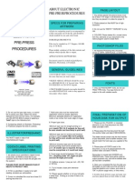 ABOUT ELECTRONIC PRE-PRESS PROCEDURES