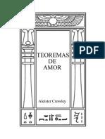 Aleister Crowley - Teoremas de Amor (Pt)