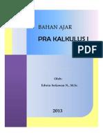 Pra Kalkulus 2013.1-V2