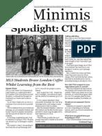 MLS De Minimis Vol. 4 Issue 3